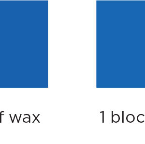 Blue Candle Dye Block Usage instructions