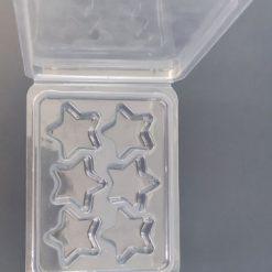 Star Wax Melt Clamshell Mould