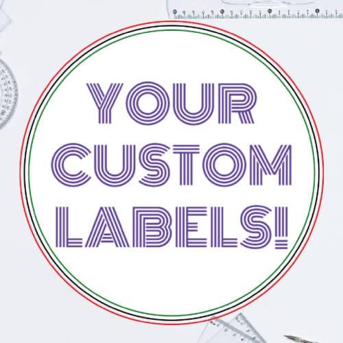 1.5 Inch Round Custom Label