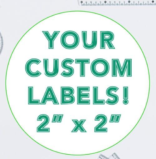 2 Inch Round Custom Label