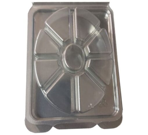 8 Cavity Oval Clamshell