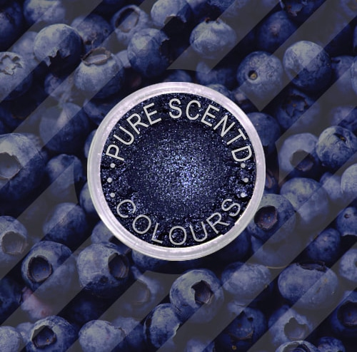 Pure Scented Mica Powder Blueberry