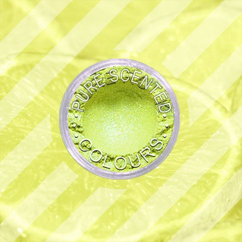 Pure Scented Mica Powder Lemon Sherbert Sparkle