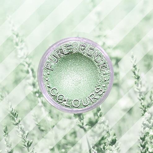 Pure Scented Mica Powder Silver Green