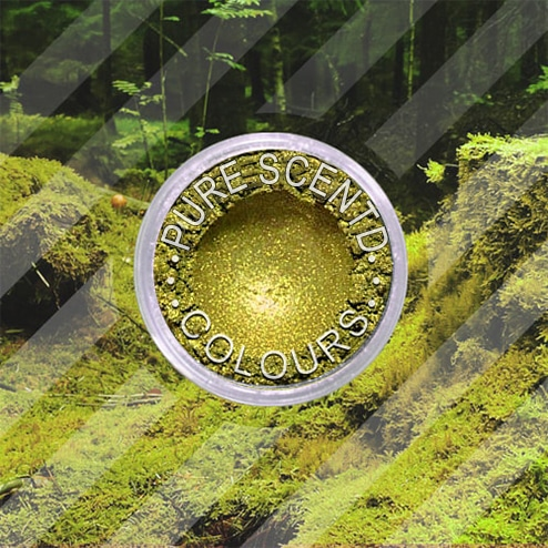 Pure Scented Mica Powder Chartreuse Sparkle
