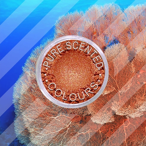 Pure Scented Mica Powder Cute Coral